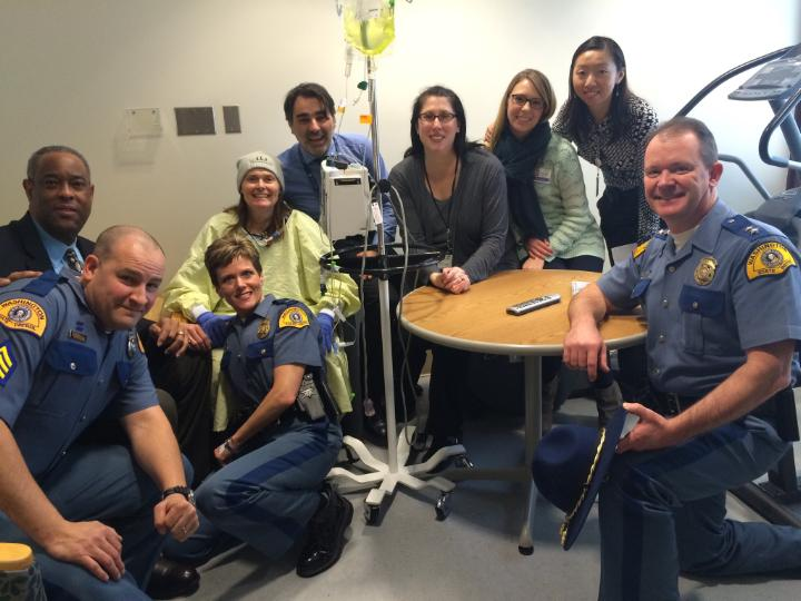2-5-16 Renee Padgett Hospital Visit by Chief