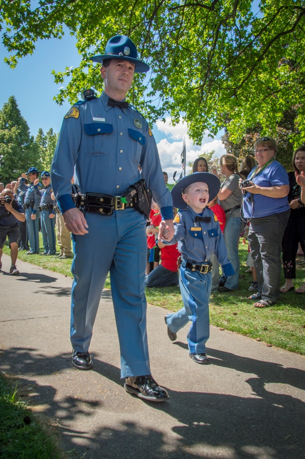 "The Little ""Chief For A Day"" event, at the Apple Blossom Festival in Wenatchee."