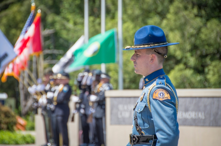 2016 State of Washington Law Enforcement Medal of Honor, Peace Officers Memorial