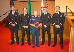Recruit Class 16-02 Award Winners