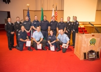 Recruit Class 16-02 Award Winners