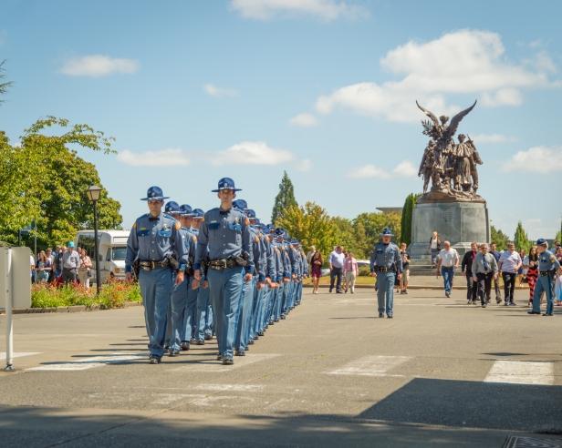106th Trooper Basic Training Class Graduation