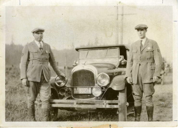 1924 GZ Hyde and RH Hyatt