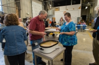 Combined Fund Drive Thanksgiving Feast hosted by Property Manage