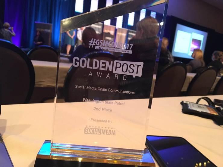 WSP GSMCON Award